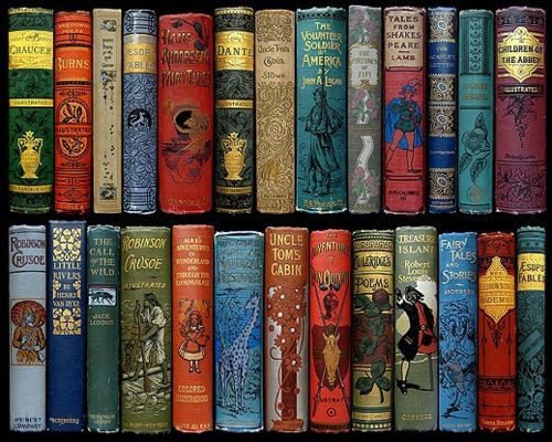 Vintage Book Collection That I Would Nt