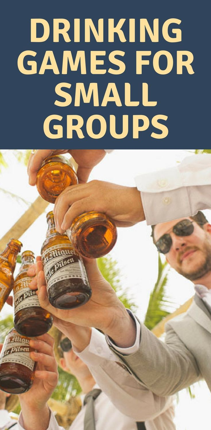 Best drinking games for small groups drinking games