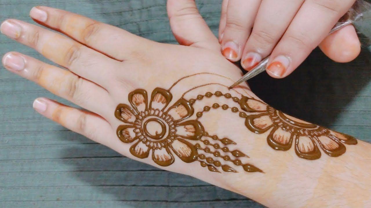 बह त आस न ग ल ट क क म ह द लग न स ख सरल श ड ड म ह द Easy Stylish Mehndi Designs For Hands Hand Henna Henna Hand Tattoo