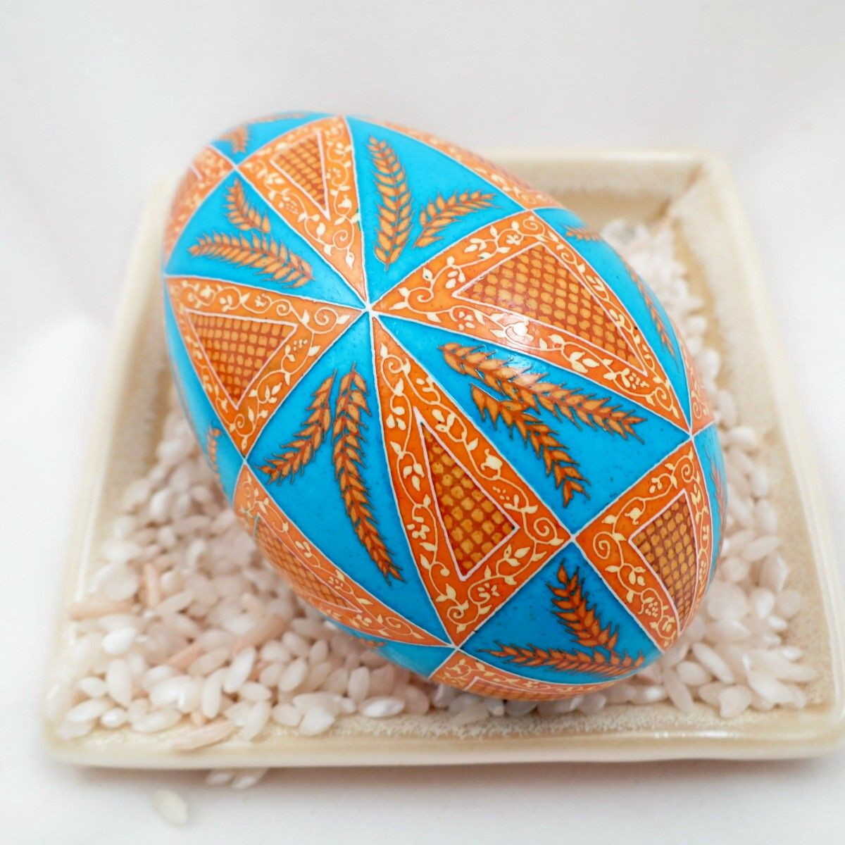 2015 Pysanky for Ukraine for peace and protection by Dore Douty
