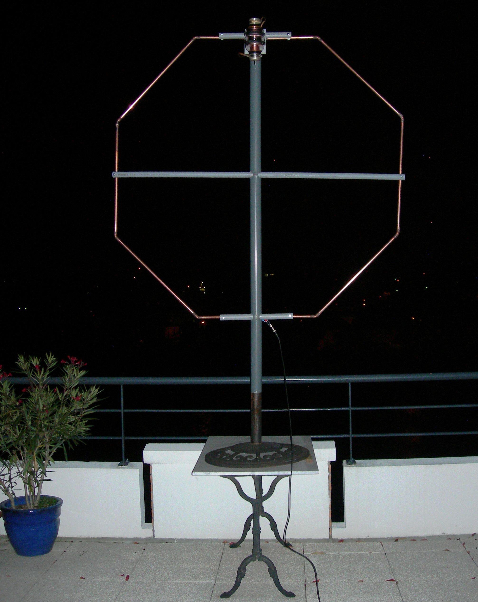 Magnetic Loop antenne39s Radios Ham radio antenna Ham radio
