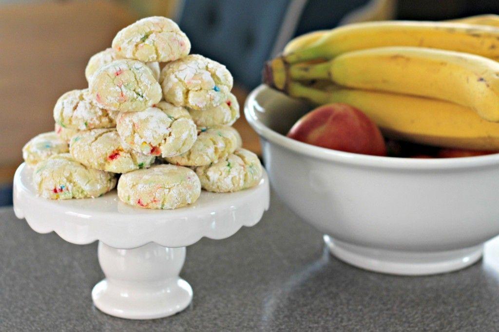 Funfetti Gluten Free Cookies