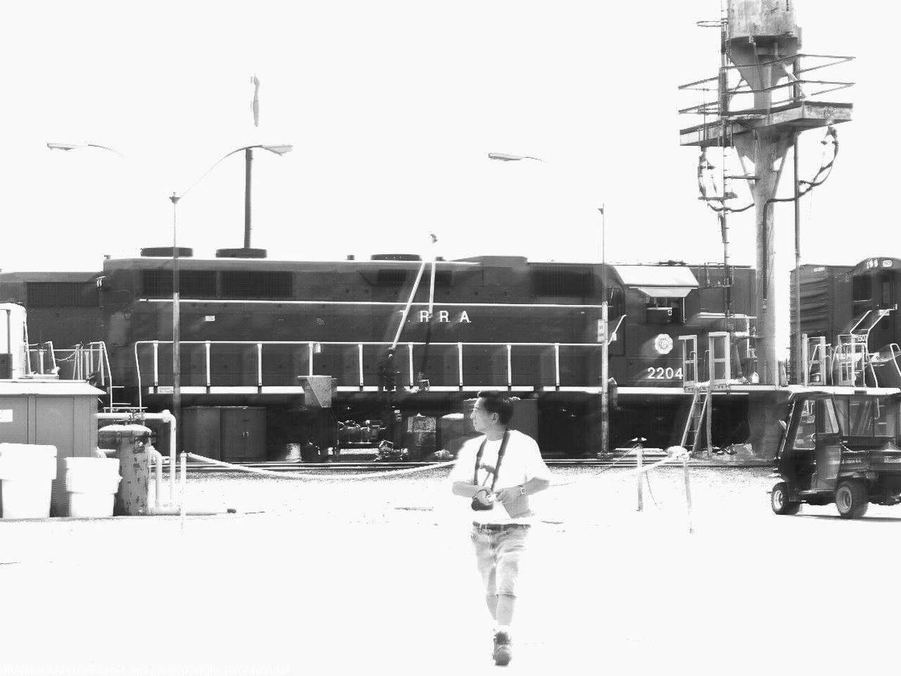 TRRA 2204   Description:    Photo Date:  7/10/2001  Location:  Madison, IL   Author:  Paul Bender  Categories:  Yard  Locomotives:  TRRA 2204(GP38-2)