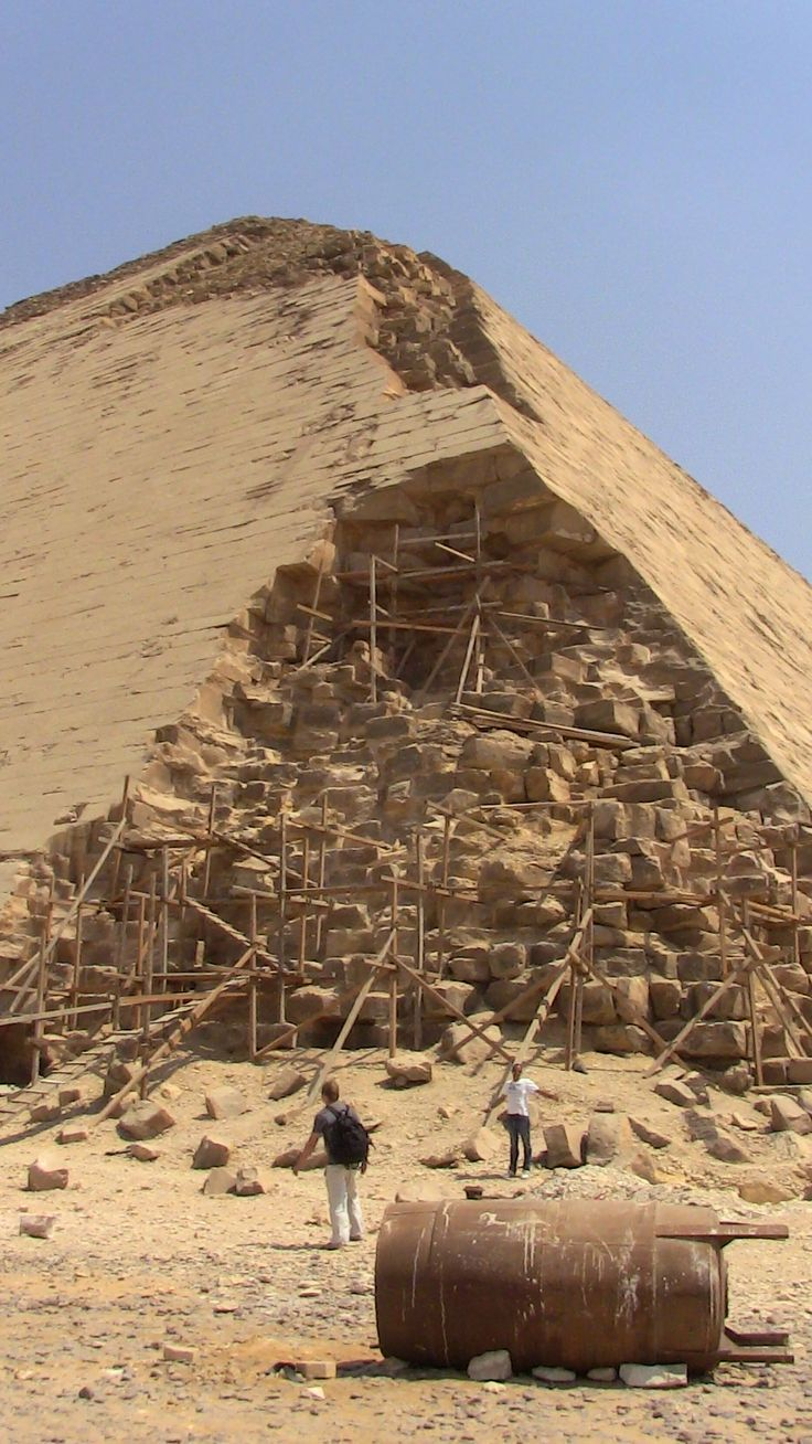 Pyramiden Früher