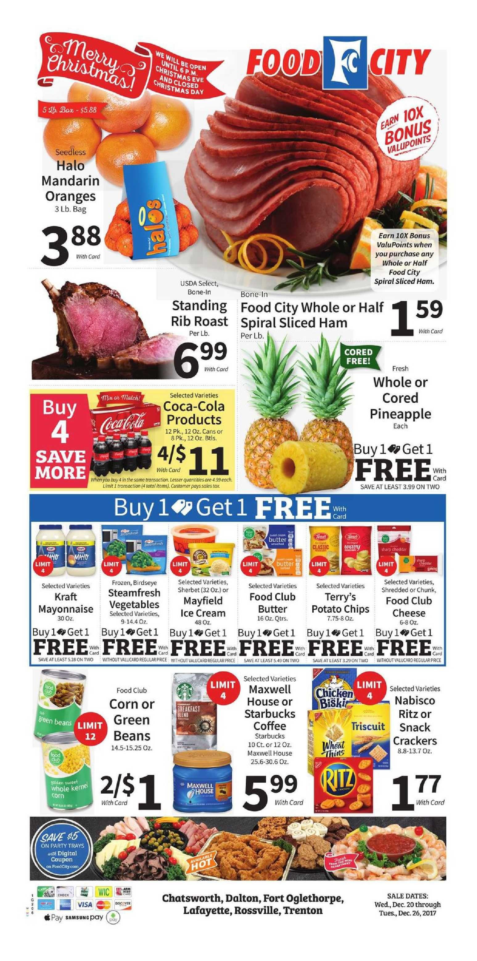 Food city weekly ad december 20 26 2017 httpwww