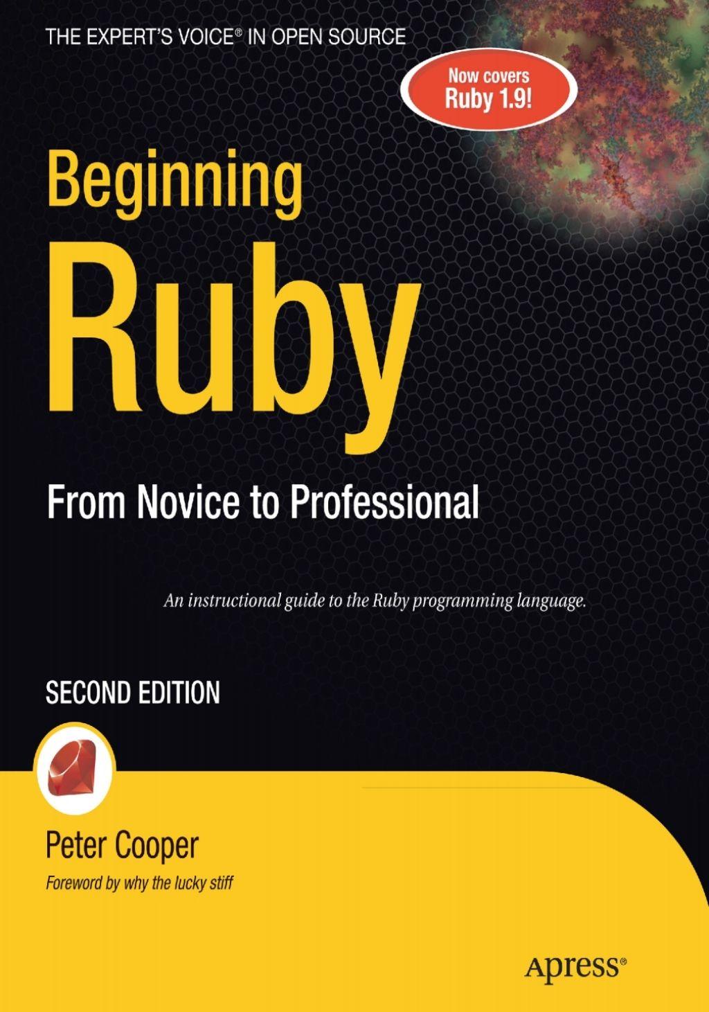 Beginning Ruby (eBook) in 2019 Free pdf books, Open