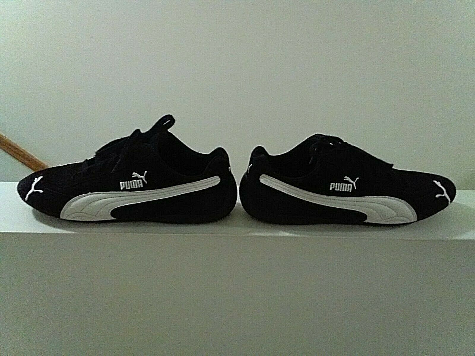 PUMA SPEED CAT SPEEDCAT SUEDE BLACK/WHITE SNEAKERS SHOES ...