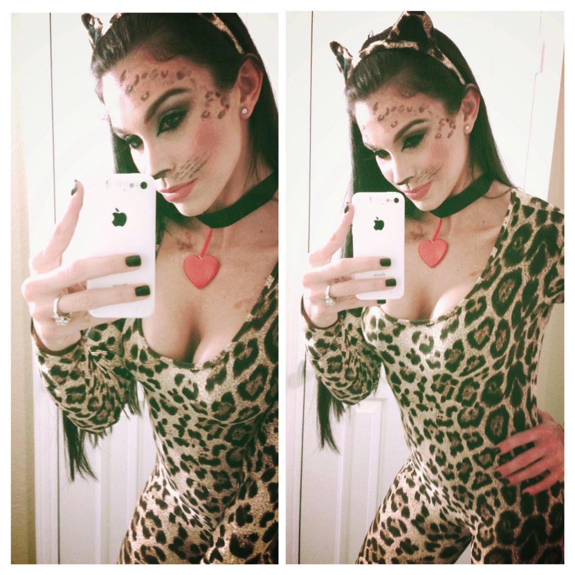 Cougar Halloween Makeup.Pin On Beauty