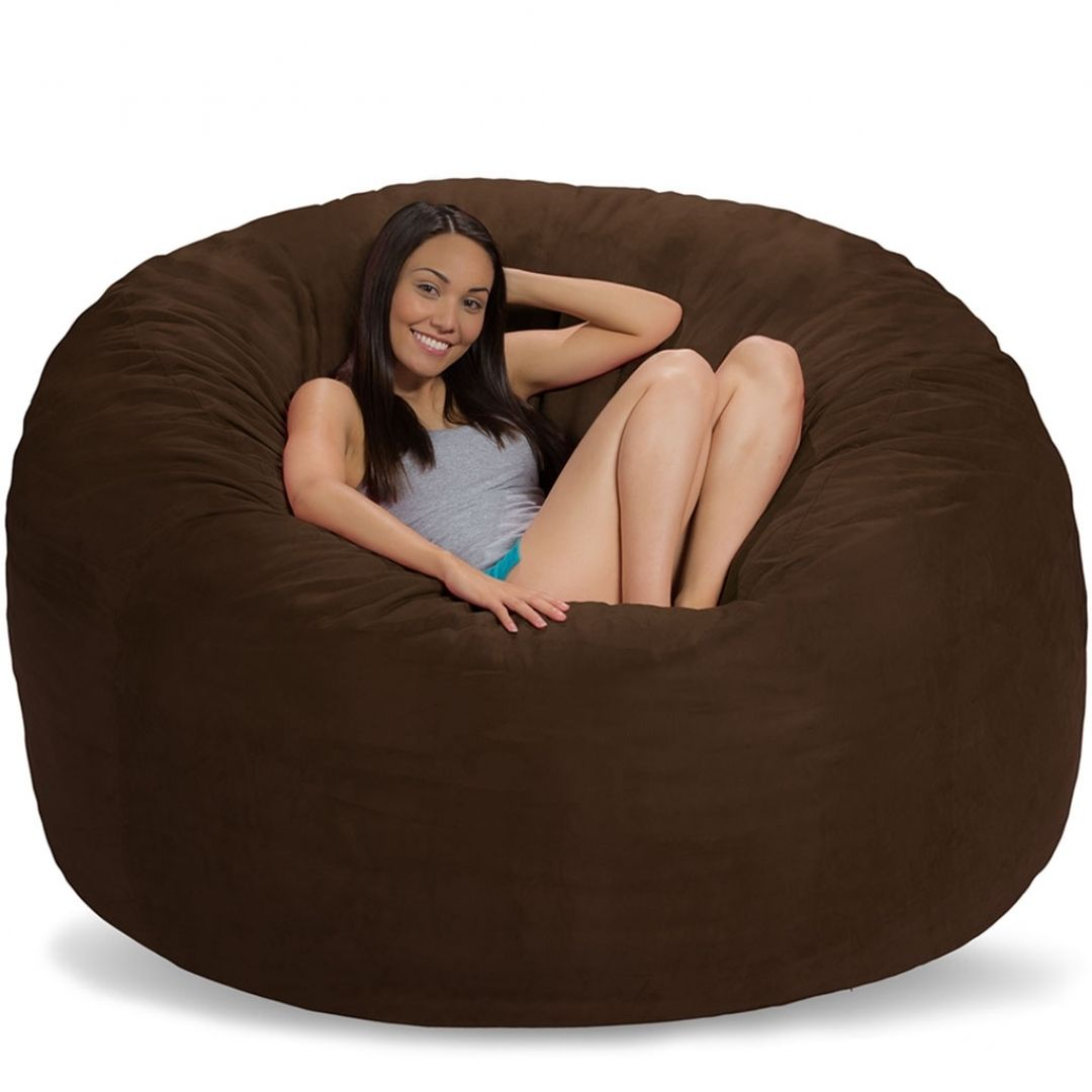 Adorable Giant Bean Bag Chairs Household Furniture On Home Decoration Idea From