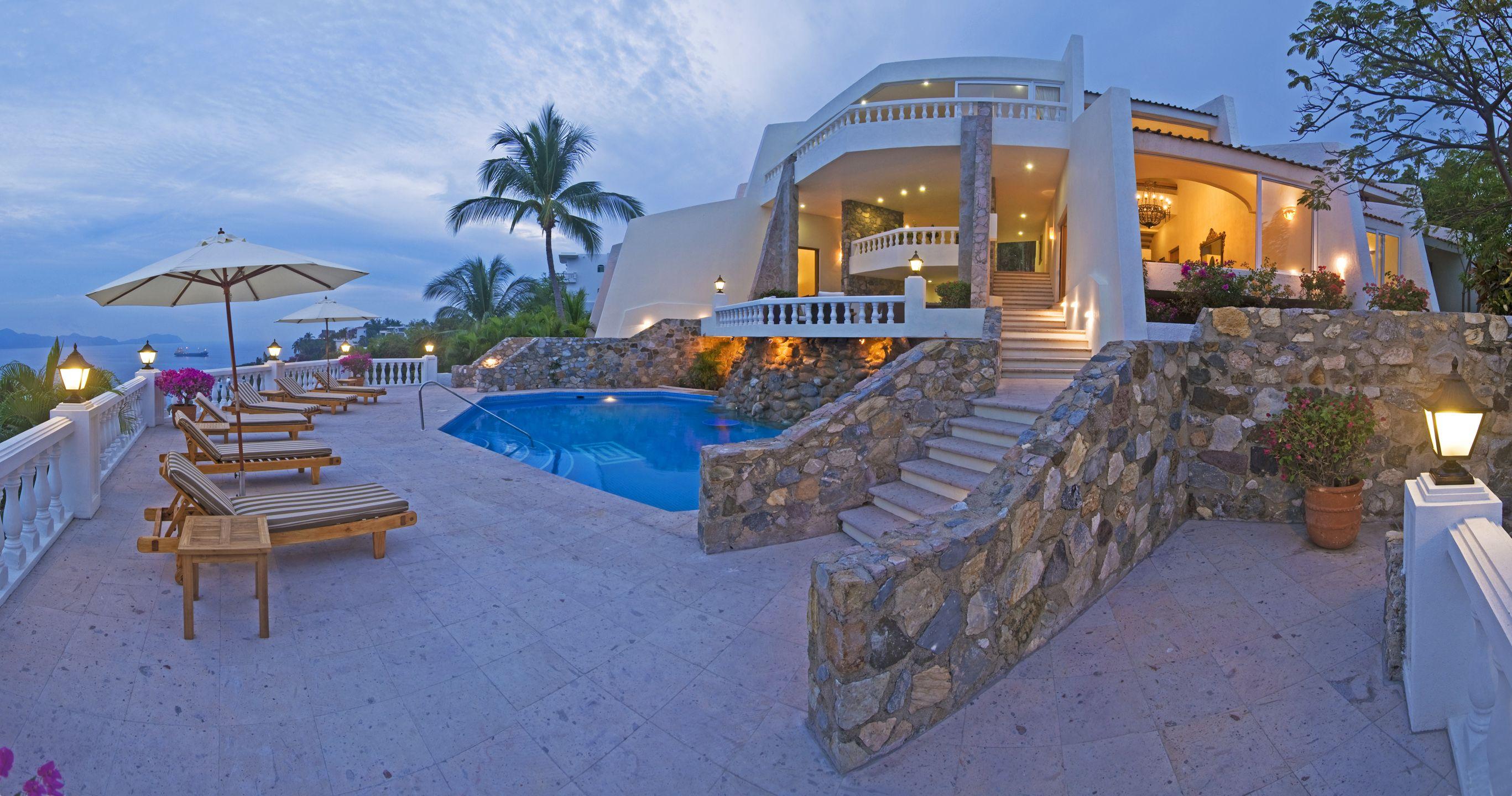 Villa Casablanca Manzanillo Luxury villa rentals, Beautiful villas