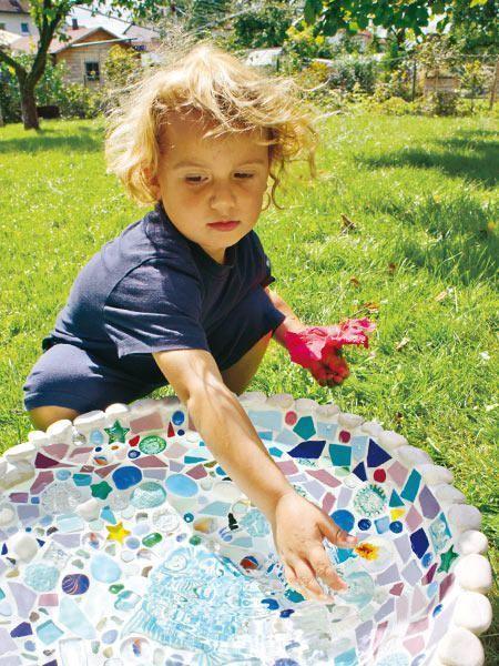 Stück für Stück zum Deko-Glück – Mosaike mit Steinchen zum Selbermachen – #D