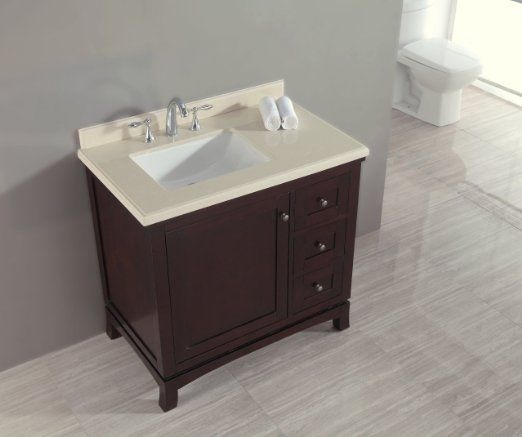 Ove Velega 36 Bathroom 36 Inch Vanity Ensemble With Marble