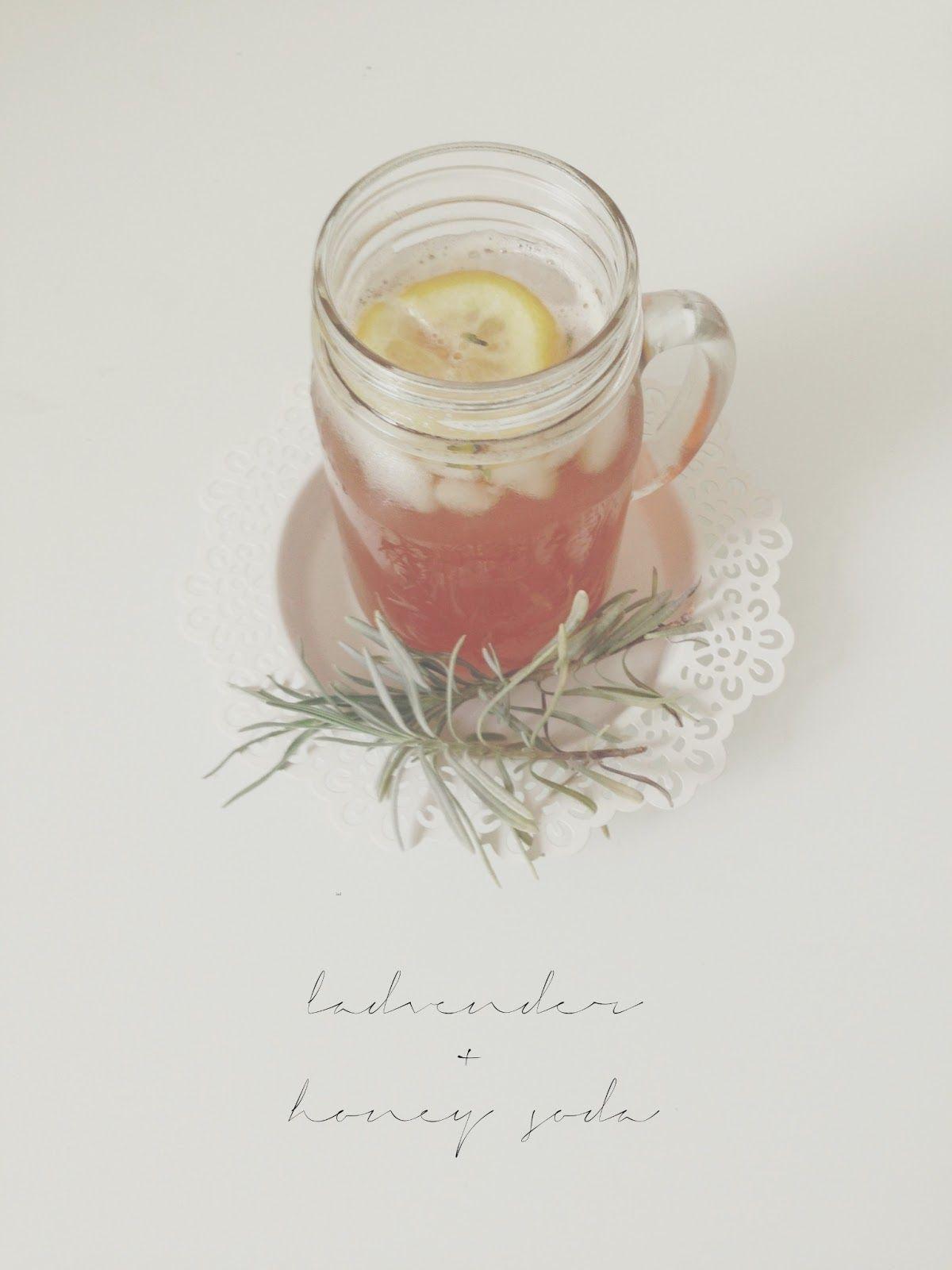 Lavender + Honey Soda - by Lady Likely Blog