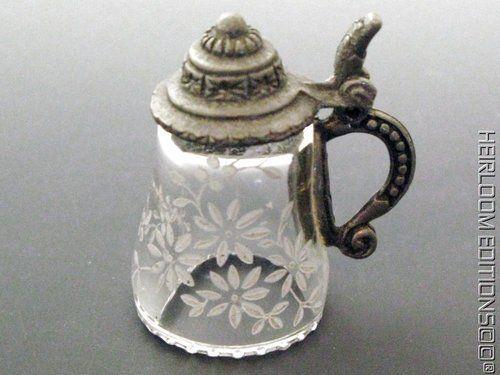 German Crystal Stein Thimble | eBay Sep 06, 2013 / US $17.60