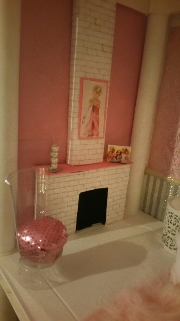 Fireplace for Barbie