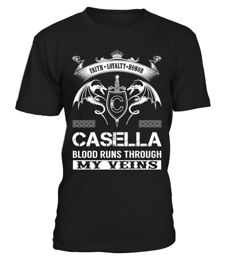 CASELLA Blood Runs Through My Veins