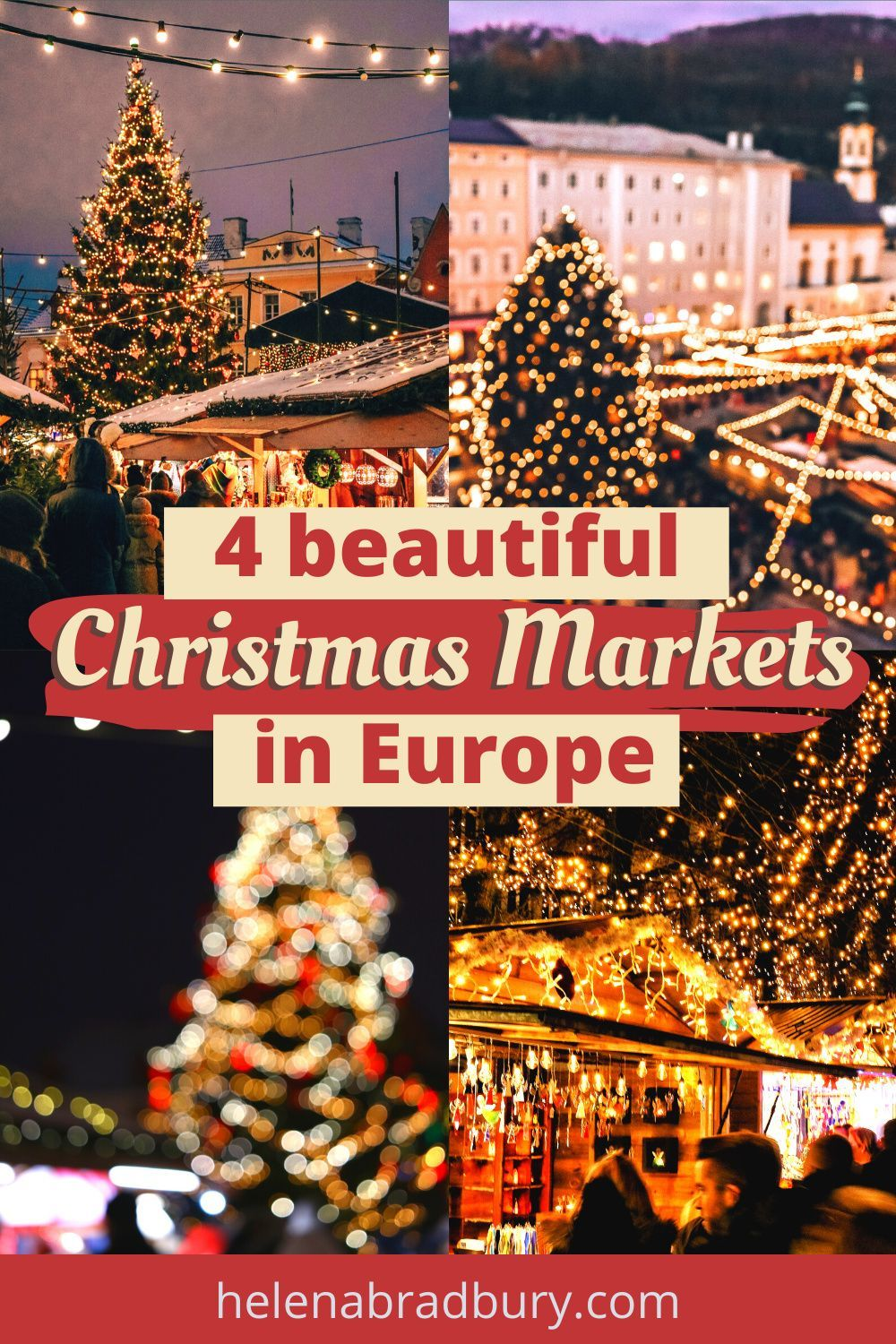 If you're looking to avoid the busiest Christmas markets in France and Germany this year, consider visiting these beautiful Christmas Markets in Europe for the perfect festive getaway | christmas market aesthetic | Christmas Market ideas | best christmas markets europe | christmas markets europe december | belgium | european christmas markets | european christmas markets cities | bruges christmas market | tallinn christmas market | salzburg christmas market | Austria | Hallstatt at Christmas