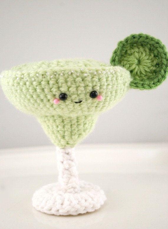 CROCHET PATTERN- Amigurumi Margarita | Cool Stuff! | Pinterest ...
