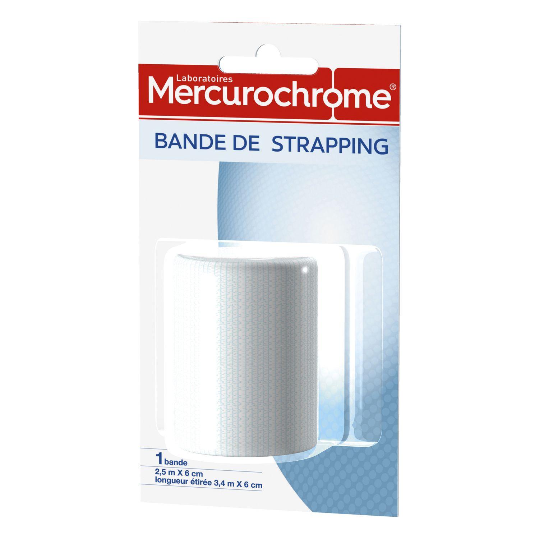 Bandage Pansement Bande De Strapping Mercurochrome La Bande A