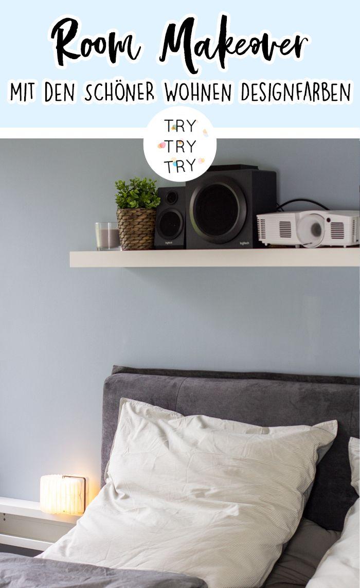 Room Makeover Mit Schoner Wohnen Farbe Schoner Wohnen Farbe Schoner Wohnen Design