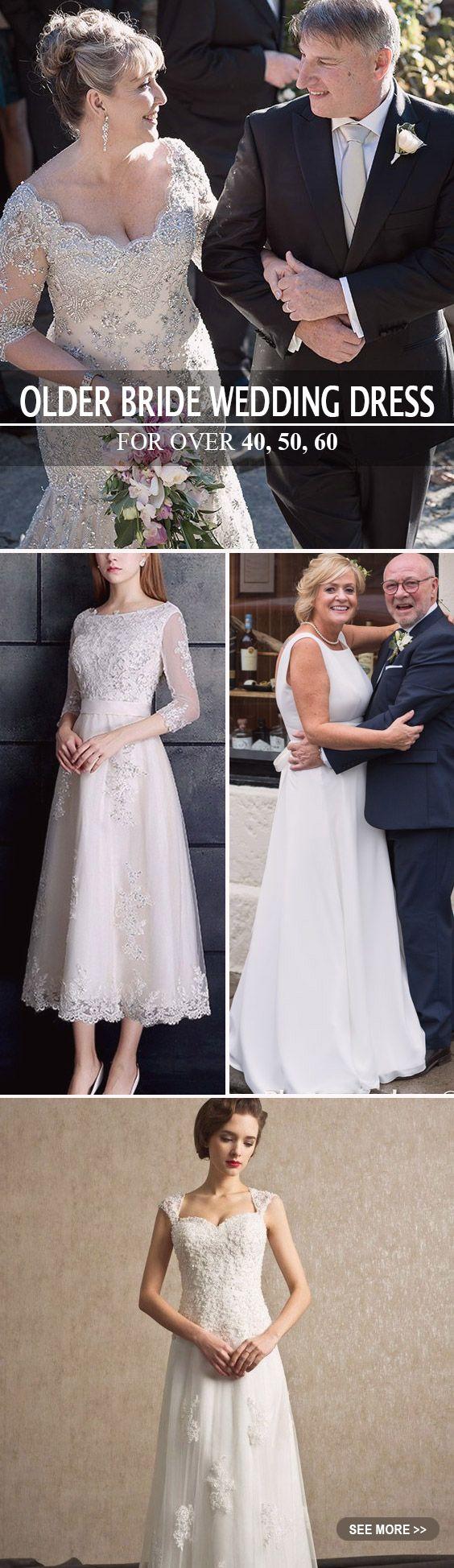 Wedding dresses for older brides over wedding
