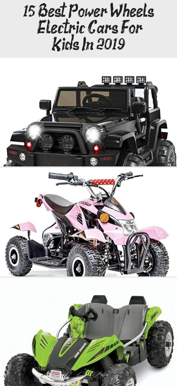 15 Best Power Wheels & Electric Cars For Kids In 2019