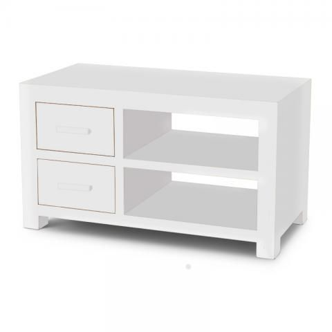 detailed look 0fe82 7cfb5 White Cube TV Cabinet   White Cube   Cubic Modern Painted ...