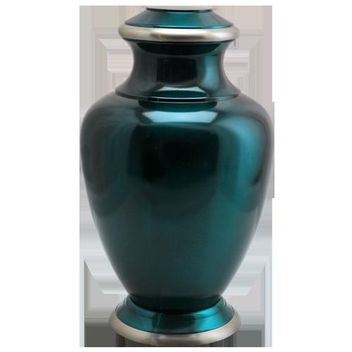 Turquoise Series Dark Green 200 cu in Cremation Urn