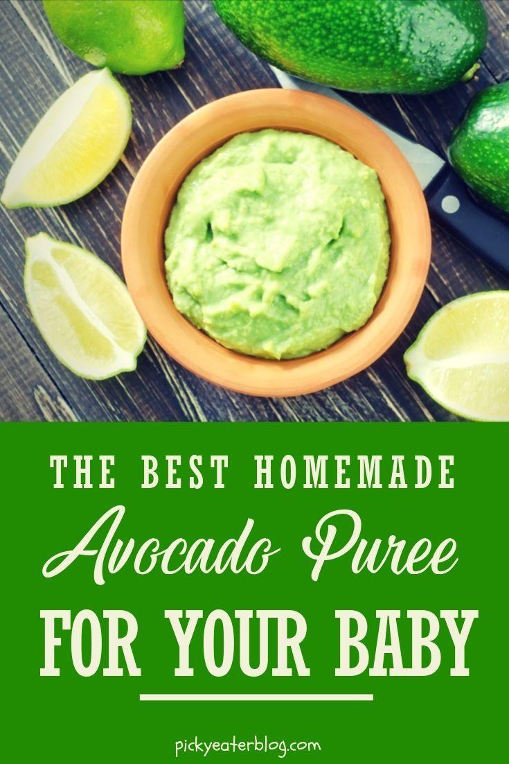Baby's First Food: Avocado Puree   Recipe   Baby food ...