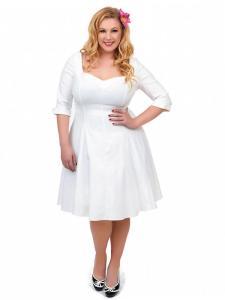 Short Wedding Dresses For Mature Women Plus Size | Annie\'s wants ...
