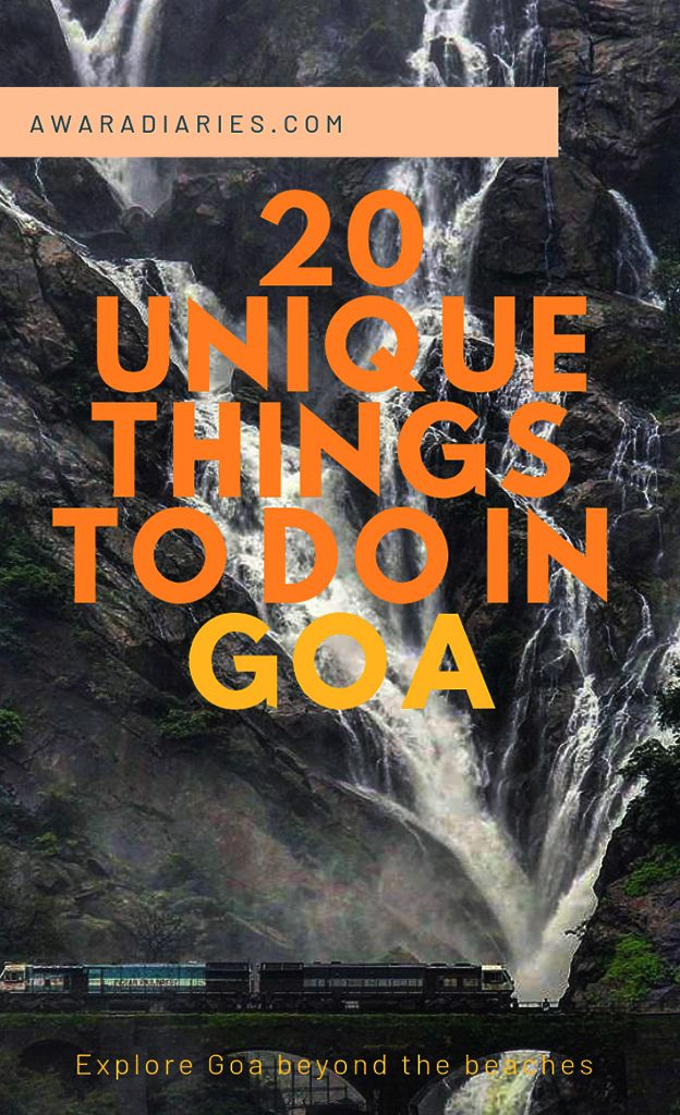 There's more to Goa than just beaches and beer! Check out these 20 unique things to do in Goa, India and make the most of your vacation trying these fun activities. #goa #goatrip #incredibleindia #beachvacay #tripideas #offbeatgoa