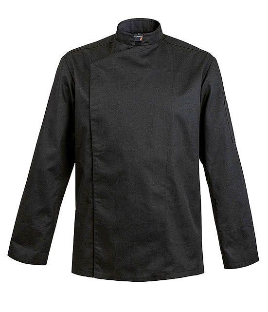 Veste Homme Firenze Noire Manches Longues Taille 50 52