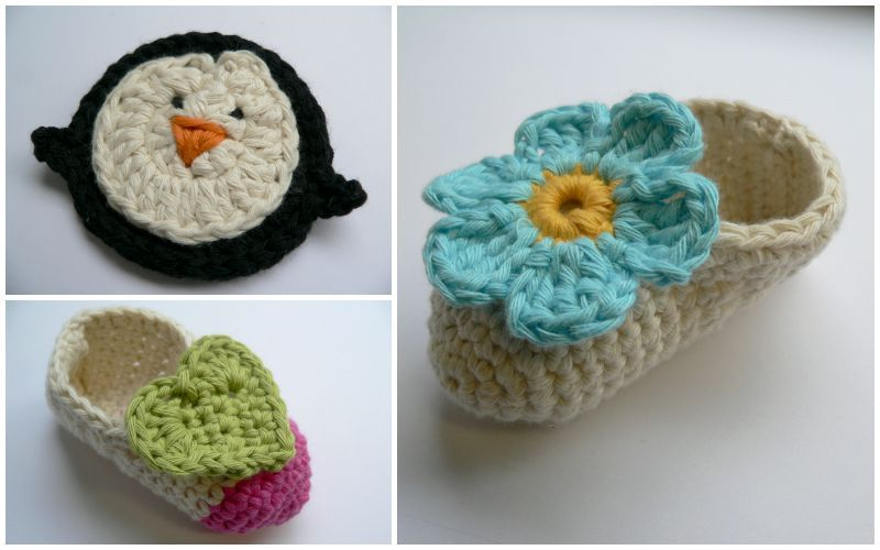 How to Crochet Baby Booties: FREE Pattern | Bebé