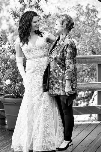 Sarah braverman wedding dress