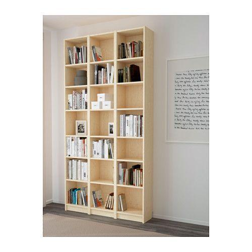 billy biblioth que plaqu bouleau biblioth que ikea le mieux et ikea. Black Bedroom Furniture Sets. Home Design Ideas