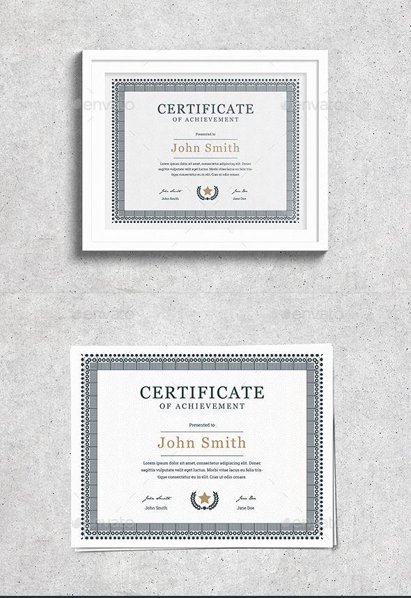 Vintage Certificate Pinterest Certificate Certificate Design