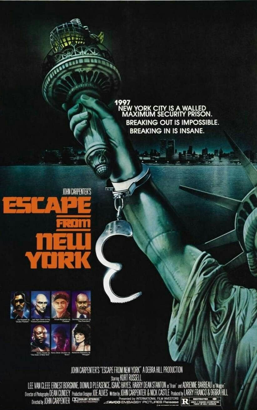 Escape From New York Movie Poster A Escapefromnewyork Fantastic Movie Posters Scifi Movie Posters Horror Mov New York Movie New York Poster This Is Us Movie