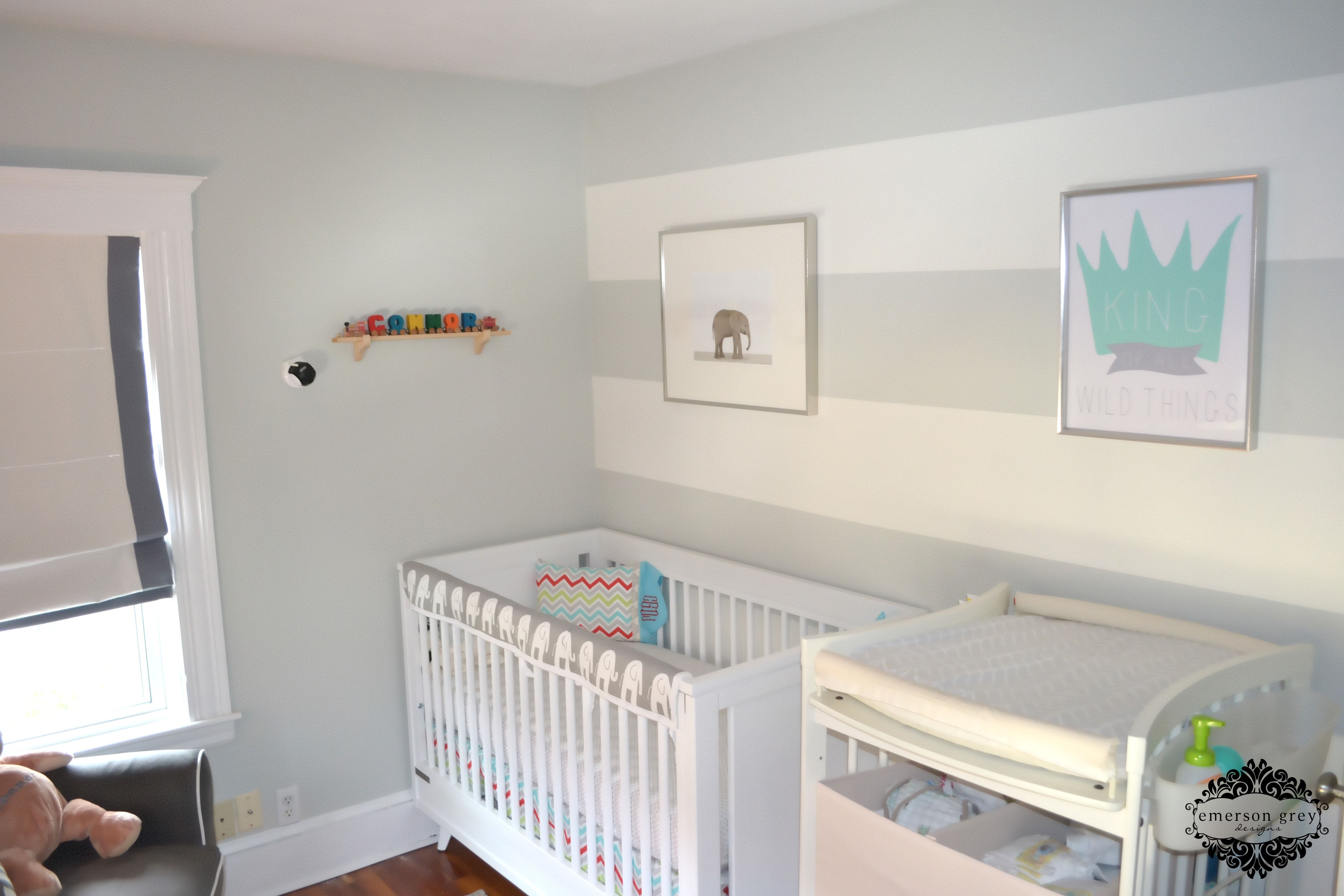 King Of All Wild Things Nursery Accent Wall Nursery Accents
