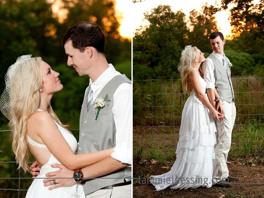 Back Yard Wedding Dresses