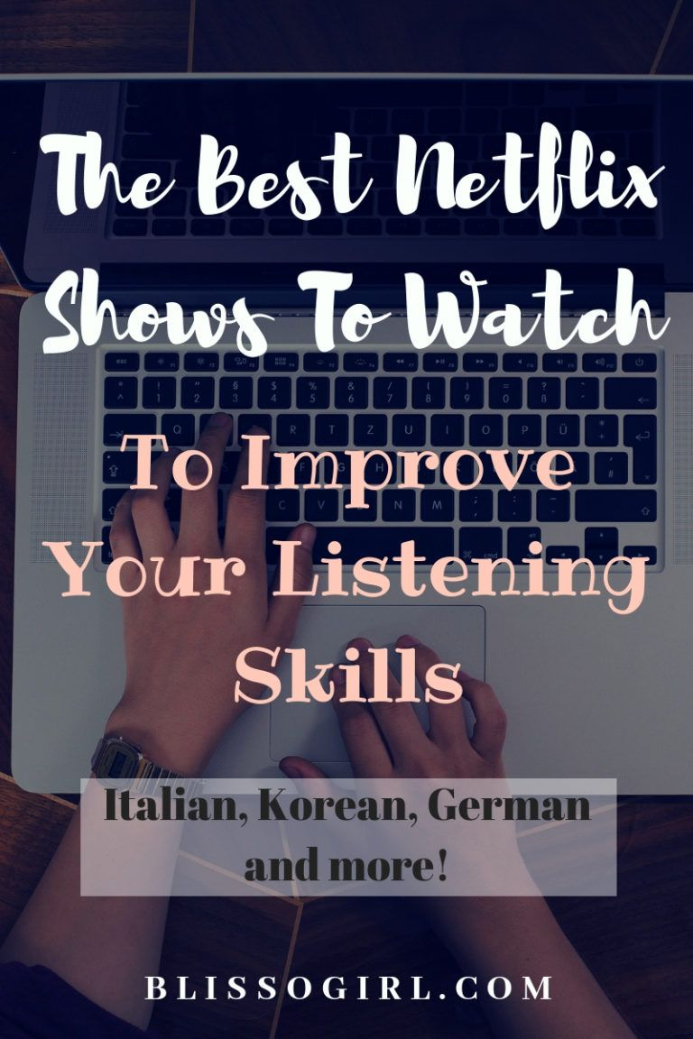 This Italian It Girl Is Your New Style Muse: The Best Netflix Shows To Watch To Improve Your Listening