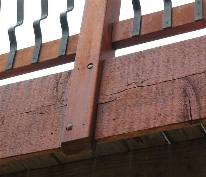 Metal And Wood Ralings For Decks Verizon Search Results Deck Railings House Deck Deck Posts