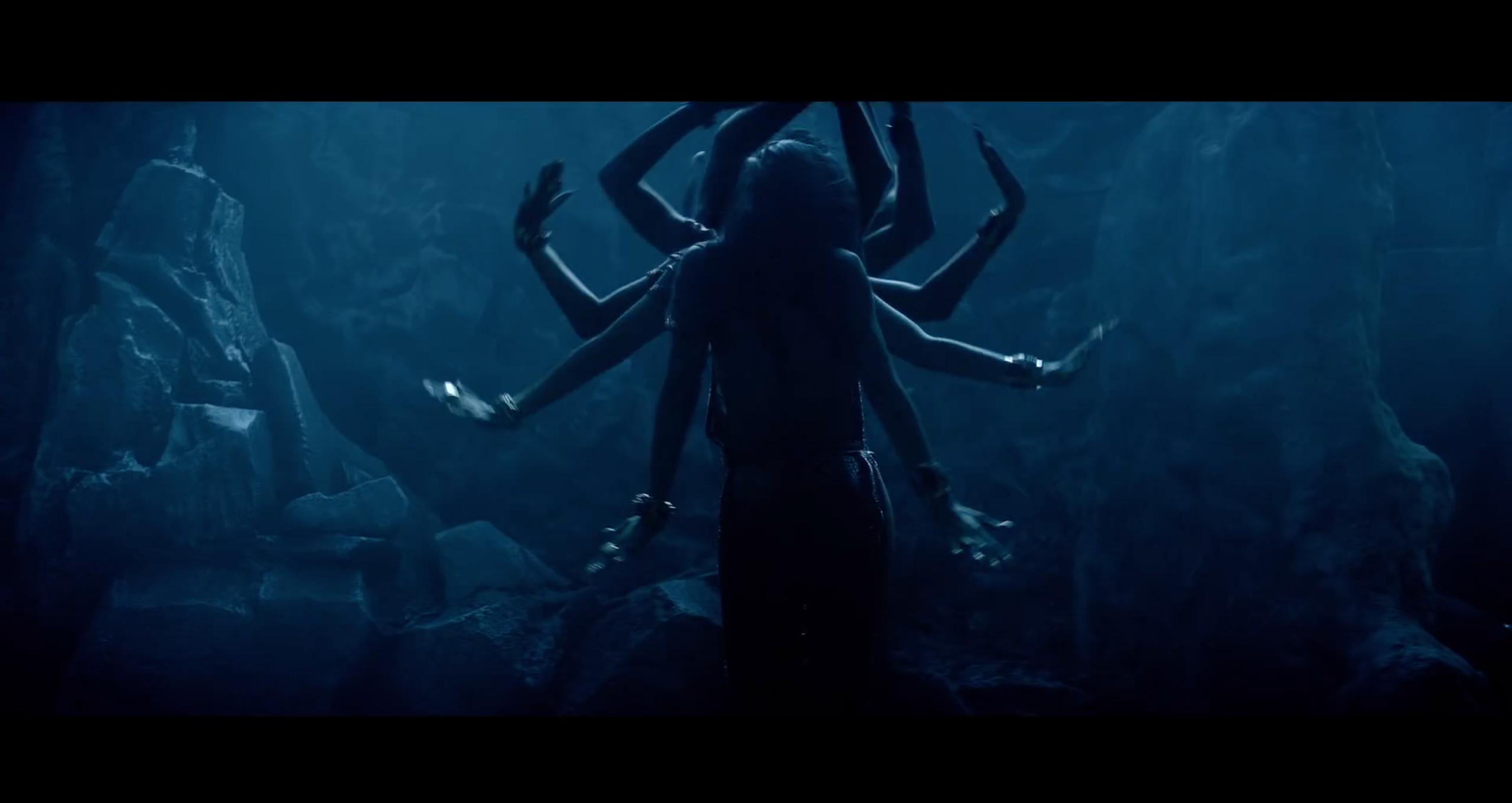 Rihanna / Where Have You Been / Music Video Still / Durga Goddess / Multiple Arms