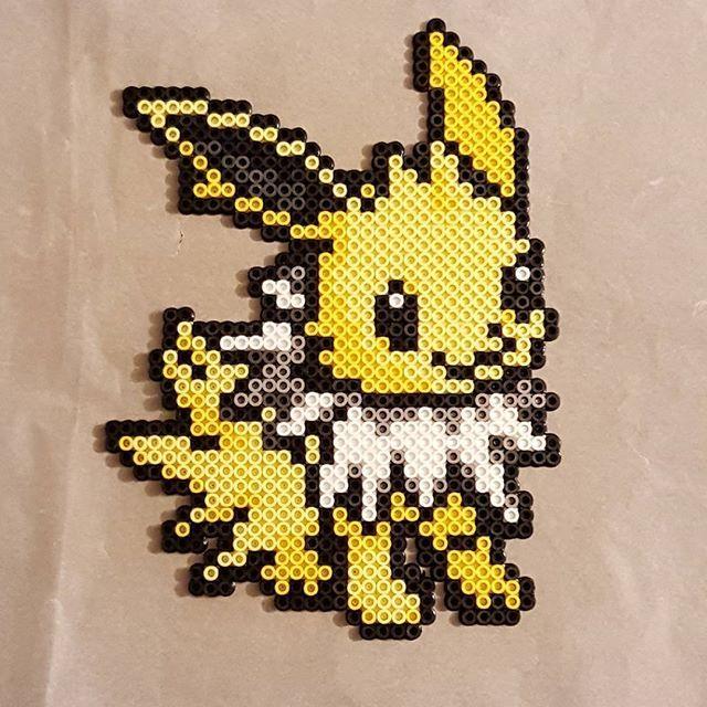 Jolteon - Pokemon perler beads by peckapon perler,hama