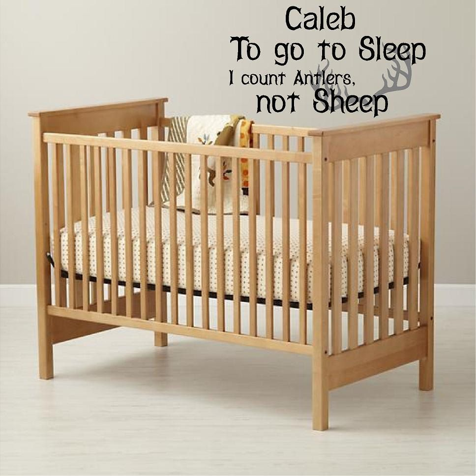 Wall Decals Nursery Hunting Deer Baby by VinylDesignCreations, $20.00