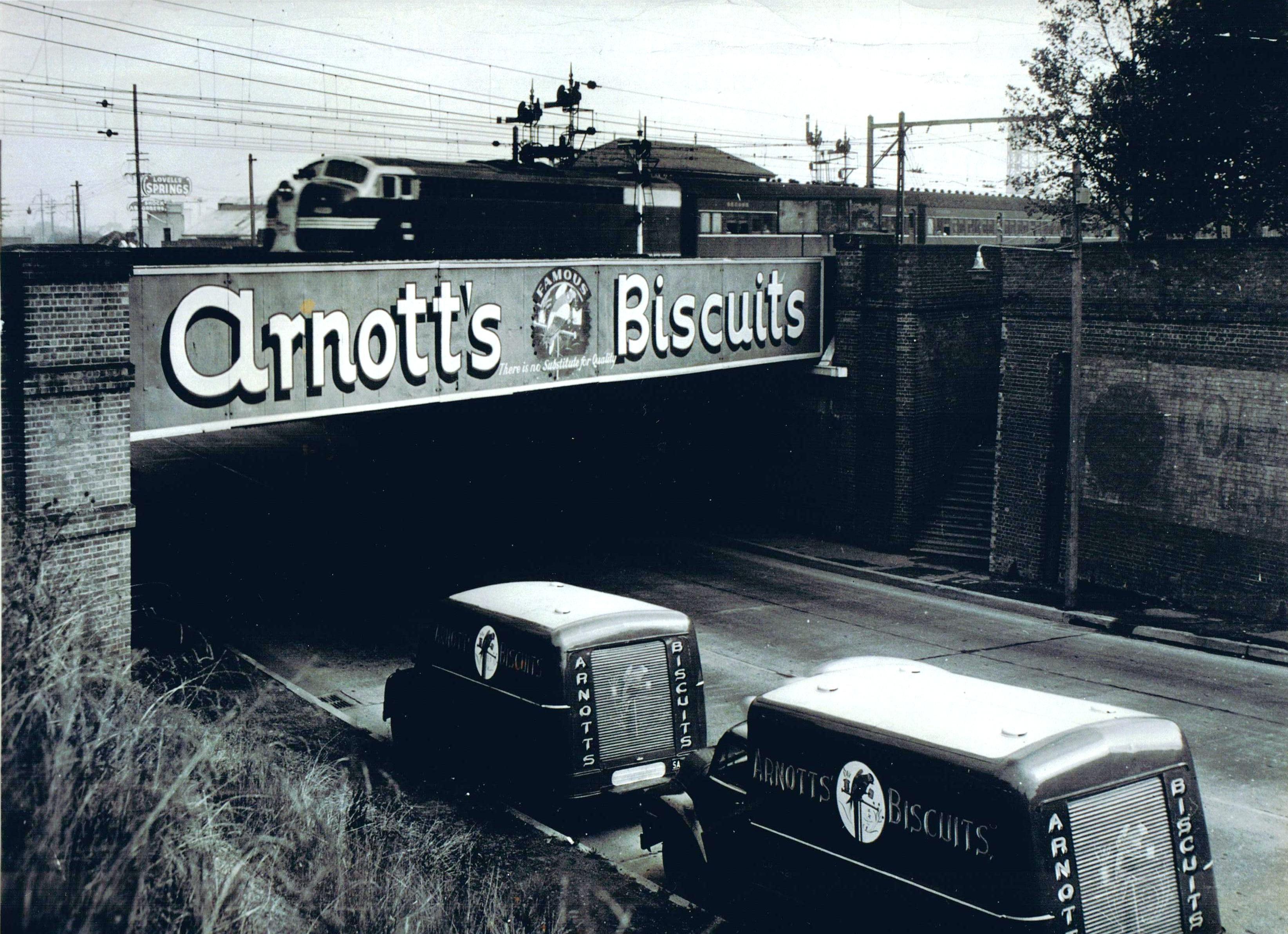 Arnott's-Bridge, Parramatta Road., Homebush, NSW.ve.