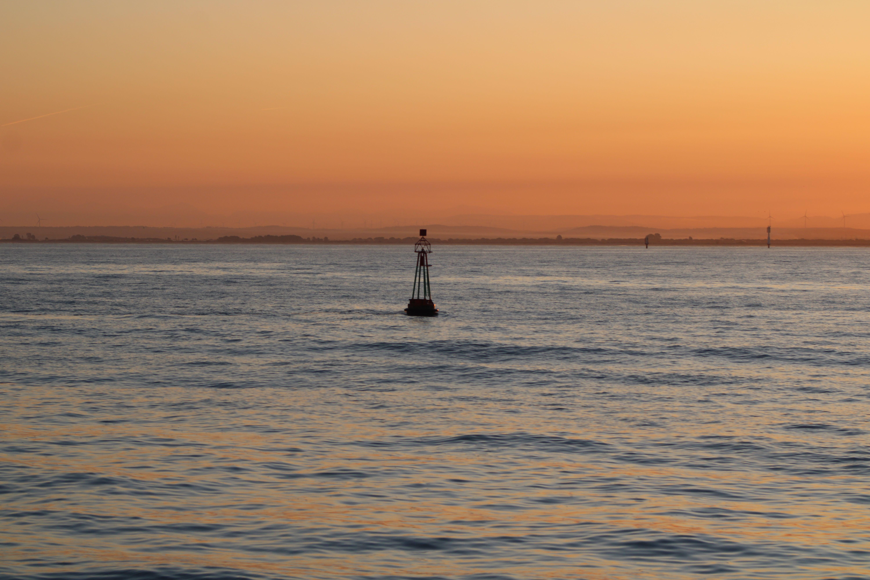 paisajes captados desde el catamarán de la bahía de Cádiz