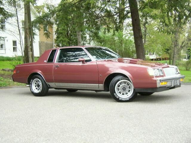 1987 Buick Regal Turbo T Limited 3 8 Sfi Turbo Intercooled In Rosewood Metallic This Was The Nicest Regal In My Opinion Cleck Buick Regal Buick Muscle Cars