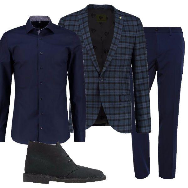 Pin Di Waleed Babar Su Idea Giacca A Quadri Camicie Blu Giacca