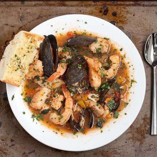 Cioppino - Seafood Stew #seafoodstew