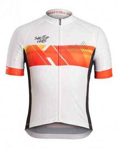 Mens Bicycle Jerseys Man Short Sleeve White Cycling Shirt Biking Jersey Top Wear